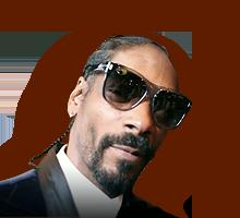 Snoop Dogg's face
